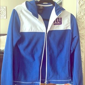 Cute NY Giants zip up hoodie NWOT!
